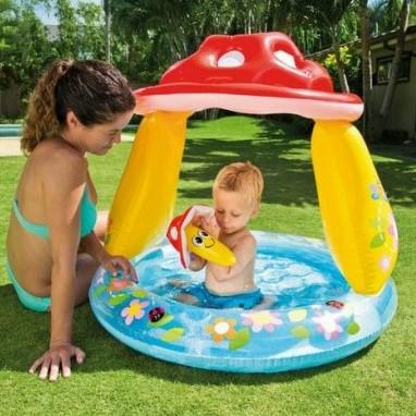 Купить детский бассейн Грибочек