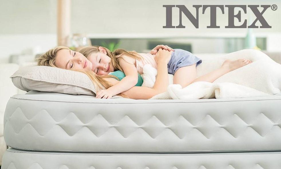 Надувные кровати Интекс