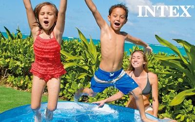 Детские бассейны Intex