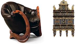 Кресло с драконами